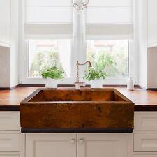 Copper Drop In Top Mount Kitchen Sinks Ebay