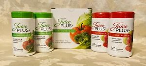 NEW JUICE PLUS FRUIT & VEGETABLE BLEND 4 MONTH SUPPLY EXP 10/2022