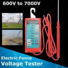 Electric Fence Voltage Tester Energiser Farm Garden Solar Fence Fault Fenceline