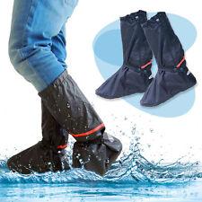 Elastisch Wasserdicht Regenschutz Überschuhe Rutschfest mit Reflektierendes Band
