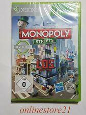 Monopoly Streets Xbox 360 Deutsche Version NEU