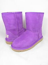 NEW KIDS GIRLS YOUTH WOMEN UGG AUSTRALIA CLASSIC SHORT ELECTRIC VELVET 5251 K