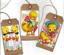 12 PRIMITIVE TAGS~Sweet Easter!~HANG TAGS~Special! Set V