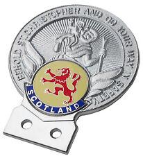 St Christopher Scotland car grille badge
