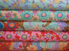 Fern Valley by Cary Phillips for Clothworworks,  Set of 5  Fat Quarter Combo set