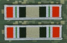 TALIZOMBIE© WHACKER GULF WAR OIF I & II TROPHY IRON-ON 2-TAB SET: IRAQ VETERAN