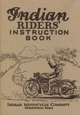 1927 INDIAN MOTORCYCLE RIDER'S INSTRUCTION BOOK