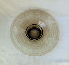 Coupe en verre fumé dégagé à l'acide FAINS-LES-SOURCES Art-déco 20's 30's
