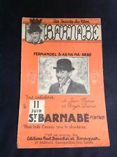 Partition - Fernandel - Barnabé - Manse Dumas - P1