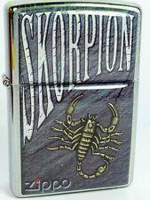 Zippo Skorpion Art Kunst Collection in Holzbox  Neu für Sammler Special Edition