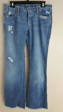 Talbots Whitney Patched Jeans size 10 Boot Cut