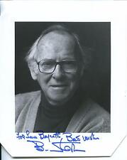 BARNARD HUGHES ACTOR IN THE LOST BOYS & DARK SHADOWS SIGNED PHOTO AUTOGRAPH