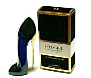 CAROLINA HERRERA GOOD GIRL EAU DE PARFUM MINI SIZE 0.24 FL.OZ. (7 ML) NEW in BOX