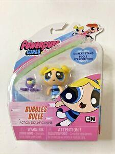 "Powerpuff Girls Bubbles Bulle Cartoon Network Action Figure Doll Spin Master 2"""