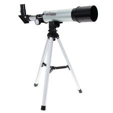 360x50mm Astronomical Refractive Monocular Spotting Scope Telescope with Tripod