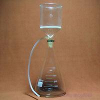 5000ml,Glass Suction Filter Kit,2000ml Buchner Funnel & 5L Erlenmeyer Flask