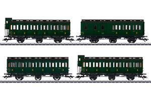 MÄRKLIN 42042 Abteilwagen-Set der SNCF 4-teilig passend zu 36371 #NEU in OVP#