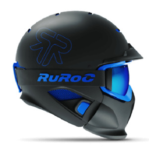 RUROC RG1-DX - Color: Black Ice - Size: Yl / S (54 - 56 CM)
