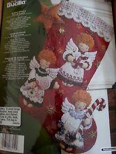 Bucilla Candy Angels Felt Stocking Kit #86259 Christmas