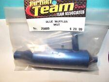 FACTORY TEAM ASSOCIATED  25089 MGT BLUE MUFFLER ASSEMBLY