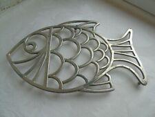 Trivet kitchen stand pot pan  vintage cast aluminum mark Italy