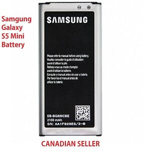 New Replacement 2100 mAh Battery for Samsung Galaxy S5 SV Mini SM-G800 G800F