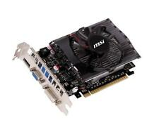 MSI GeForce GT630 Video Card 2GB N630GT-MD2GD3 GDDR3 DVI/VGA/HDMI PCI-Express