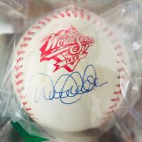 Derek Jeter Signed Autograph Baseball, 1998 World Series,Steiner Sports COA
