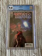 Thor #5 (2020) CGC 9.8 White Pages 1st Appearance of Black Winter Marvel Comics