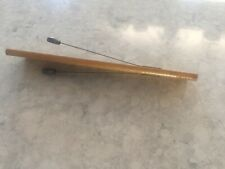 1890 wood noise maker 6� long patent mark