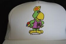 Pax 1987 Pan Am Games Indianapolis Trucker Hat White Snapback Amigo The Parrot