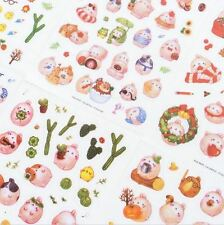 Molang Rabbit & Friends Stickers 6 Sheets Set ~ Kawaii Stickers, Bunny Stickers