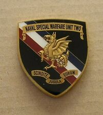 US Military Special OPs SEAL Team Navy Special Warfare Unit 2 Challenge Coin