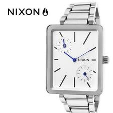 Nixon Stainless Steel Band Brushed Wristwatches