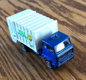 "Norev (France) 1/64th Volvo ""Village of Paris"" Refuse (Garbage/Waste) Truck"