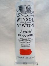 Winsor & Newton Artists' Oil Colour Series 4 37ml 1.25 fl CADMIUM RED NEW