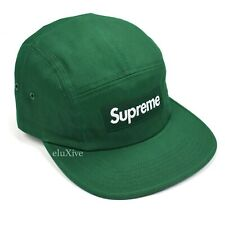 NWT Supreme NY Dark Green Box Logo Heat Reactive Camp Cap Hat SS18 DS AUTHENTIC