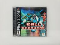 Ball Breakers (Sony PlayStation 1, 2000) Complete with Manual Tested and Works