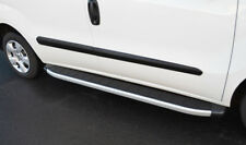 Aluminium Side Steps Bars Running Boards To Fit SWB Fiat Doblo (2009+)