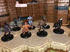Dungeons & Dragons Miniatures Lot Player Character Beastly Party Satyr Drow #8