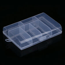 Fixable 6 Compartment Plastic Storage Box Jewelry Earring Case Holder hv2n