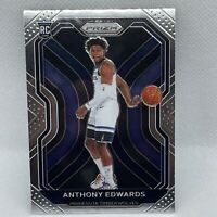 2020-21 Panini Prizm Anthony Edwards RC Rookie Card Timberwolves #258 CLEAN!
