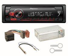 Pioneer MVH-S110UI USB MP3 FLAC Autoradio AUX Einbauset für Seat Ibiza 6L Arosa