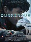 Affiche Pliée 40x60cm DUNKERQUE (2017) Christopher Nolan - Tom Hardy NEUVE