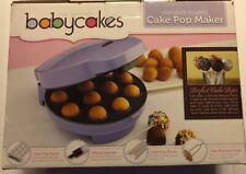 THE ORIGINAL BABYCAKES CAKE POP & DONUT HOLE MAKER BRAND NEW