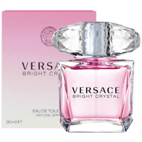 New Sealed In Box Bright Crystal By Versace 3.0 OZ / 90 ML EDT For Women