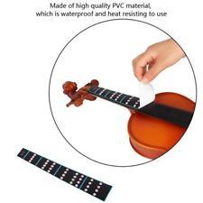 4/4 Fiddle Violin Fingerboard Sticker Fretboard Marker Removable for Beginners