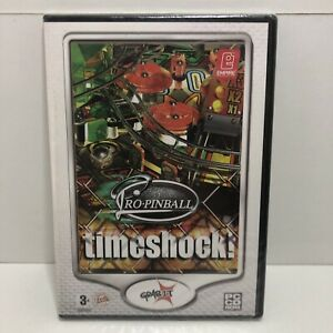 PRO PINBALL TIMESHOCK!. GREAT PINBALL GAME FOR THE PC NEW AND SEALED