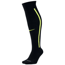 Nike Vapor OTC Football Socks Large 8-12 Black Volt Knee High Over-the-Calf