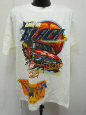RICKY RUDD XL SHIRT 4 SIDED PRINTED NASCAR MENS VINTAGE RETRO VTG WHITE